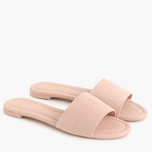 NEW Jcrew Cora Suede Sandals